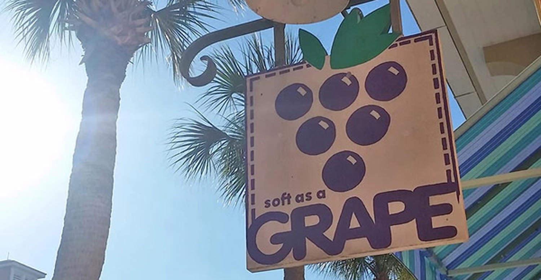 Soft as a grape store hero